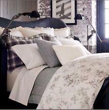 Ralph Lauren Home Hoxton Ainslie King Pillow Sham Cotton Floral Cream/Grey $135