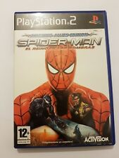 Spider-Man:El Reino De Las Sombras Amazing Alies Edition ps2 pal España completo