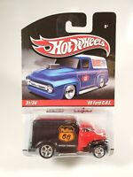HOT WHEELS SLICK RIDES REAL RIDERS '49 FORD COE PHILLIPS 66 BLACK/RED NEW NOC