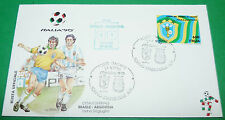 RARE ITALIA 90 24/06/1990 BRESIL - ARGENTINA 1/8e TORINO COUPE MONDE FOOTBALL