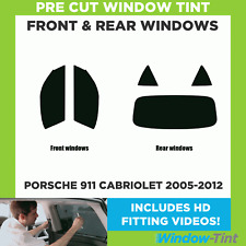Pre Cut Window Tint - Porsche 911 Cabriolet 2005-2012 - Full Kit
