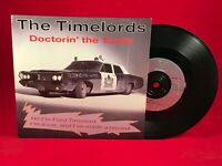 """TIMELORDS Doctorin' The Tardis 1988 UK 7"""" Vinyl Single EXCELLENT CONDITION KLF #"""
