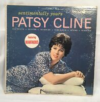 Vintage Patsy Cline Sentimentally Yours Record UNTESTED Vinyl