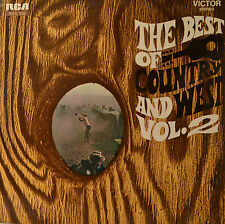 "The Best Of Country and West vol. 2 - Hank Snow - James Rich etc. 12 "" LP (O243)"