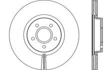 2x OPEN PARTS Discos de freno delanteros Ventilado 320mm BDR2154.20
