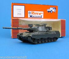 ROCO Minitanks h0 256 lotta-Carro armato Leopard 1 a2 Esercito Tedesco Verde Oliva ho 1:87 OVP SERBATOIO