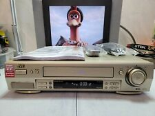 VIDEOREGISTRATORE S-VHS JVC HR-S6700 EX DEMO NEGOZIO DOTAZIONE ORIGINAL SIGILLAT