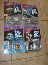 LOST IN SPACE Johnny Lightning Set 4 Space Pod #1 Film Clip B9 Robot #7 Film MOC