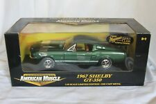American Muscle 1967 Shelby GT 350 in Green 1:18 Scale