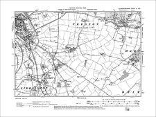 Cirencester, Siddington, Preston, Old Map Gloucestershire 1903: 51SE