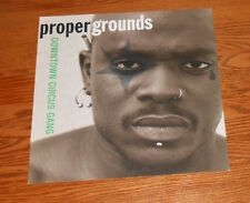 Proper Grounds Downtown Circus Gang Poster 2-Sided Flat 1993 Promo 12x12 RAP