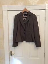 Marc Cain Wool Jacket Blazer Size 4 Uk 12 14 Vgc (w)
