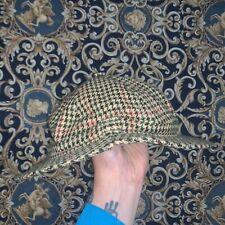 RARISSIMO CAPPELLO UOMO BARBOUR Sherlock Holmes DEESTALKER HUNTING HAT ENGLAND S