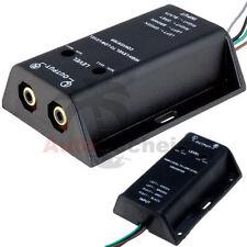 Amplificatore Adattatore Auto Radio Cavo Altoparlante per la RCA Cinch Converter