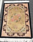"""AN AWESOME ART DECO DESIGN CHINESE RUG 5' X 3'6"""""""