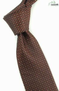 "VTG Francis Iridescent Black/Red/Gold 3 1/8"" Wide Silk Tie"