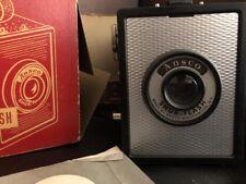 Old Vtg Antique Ansco Shur-Flash Box Camera Photography Binghamton NY USA # 120