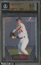 2008-09 UD USA Baseball #47 Bryce Harper RC Rookie BGS 9.5