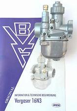 Carburateur BVF 16N3-2 pour scooter Simson SR 50 Gicleur principal 70