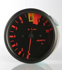 Manometro Strumento Road Italia Abarth Delta 16v Contagiri RPM 100mm Analogico
