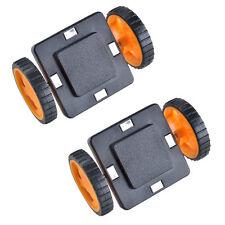 2x Car Two-Wheel Magnetic Toys Construction Building Block Bricks
