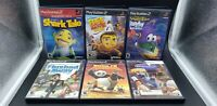 Lot of (6) Playstation 2 PS2 Games/Disney & Kids Video Game Lot! CIB TESTED!!