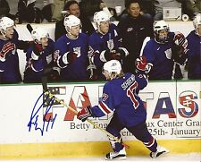 Rob Robbie Schremp Signed USA 8x10 Photo London Knights