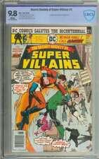 SECRET SOCIETY OF SUPER-VILLAINS #2 CBCS 9.8 WHITE PAGES