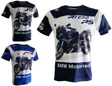 BMW Motorrad T-shirt F850GS R1250RS S1000R Biker Maglietta Camiseta motorcycles