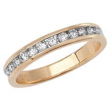 Anillos de joyería con diamantes en oro amarillo diamante