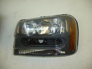 02 03 04 05 CHEVROLET TRAILBLAZER Driver Left Headlight Assembly Headlamp IC 686