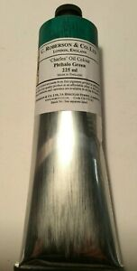 ROBERSON OIL PAINT 225ML PHTHALO GREEN