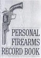 Personal Firearms Record Book - Gun Inventory log
