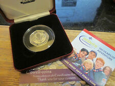 2007 UK SCOUT MOVEMENT BE PREPARED SILVER PROOF 50p FIFTY PENCE COIN