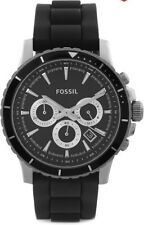 Fossil End of Season Briggs Chronograph Black Dial Men's Watch - CH2925I
