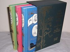 Folio Society The Complete Winnie-the-Pooh by A A Milne in 3 vols