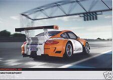 ALMS 2011 Petit Le Mans Porsche 911 Hybrid Hero Card