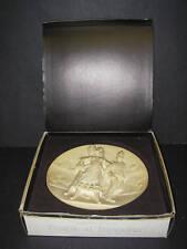 """Collector Plate 1978 La Scala Grand Opera """"Carmen"""" w Coa Gino Ruggeri Alabaster"""