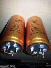 1pc ROE GOLD 1000uf 250V AUDIO GRADE 5pin HI-END TUBE AMP CAP- SOFT NICE SOUND!