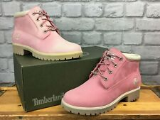 TIMBERLAND DONNA SINISTRO 7.5 Destro 7 Luce Rosa 6