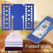 Magic Flip Fold Folding Board Kids Clothes Folder Shirt Pant Laundry OrganizerV