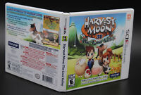 Harvest Moon 3D The Lost Valley  Nintendo 3DS Replacement Game Case & Cover Art