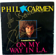PHIL CARMEN On My Way In L.A. Disque LP VINYL 45 T 881 860-1 ME Germany 1985