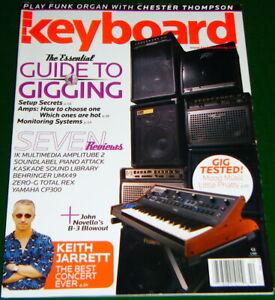 Moog Little Phatty, Behringer UMX49, Yamaha CP300 Reviews 2006 Keyboard Magazine