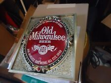 ANTIQUE OLD MILWAUKEE BEER SIGN