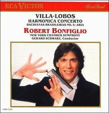 Bonfiglio, Villa-Lobos: Harmonica Concerto, Bachianas Brasileiras No. 5: Aria Ro