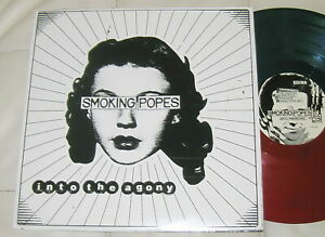 Smoking Popes – Into the Agony - ASIAN MAN AM 318 RED-GREEN VINYL 2018 NM