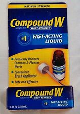 Compound W Wart Remover Fast-Acting Liquid