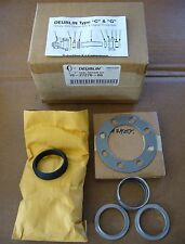 "Deublin Barco Type C 1"" Steam Union Seal Repair Kit 10-27276-00 New Sealed Box"