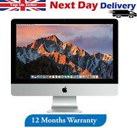 "Apple iMac 21.5"" Desktop Intel Core i5 2.7Ghz 4GB RAM 1TB HDD Sierra A Grade"